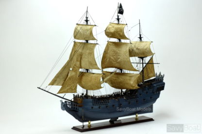 Black Pearl Pirate Wooden Handmade Ship Model