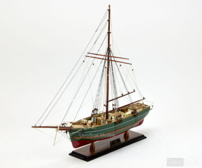 The Polar Ship Gjøa handmade ship model