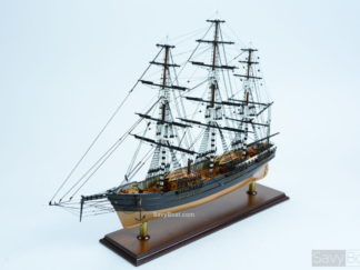 Flying Cloud wooden ship model