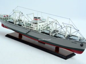 M.S. Skaubo ship model