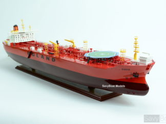 Evita Oil tanker wooden model
