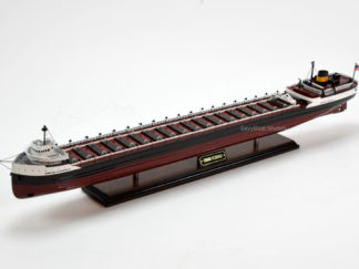 Edmund Fitzgerald wooden ship model