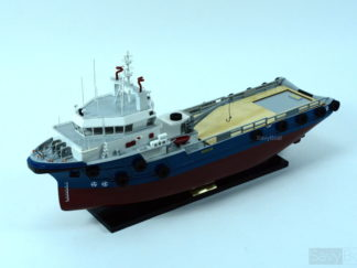 Offshore Support Vessel handmade ship Model