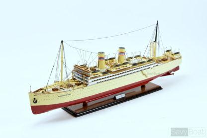 SS STAVANGERFJORD handmade model ship