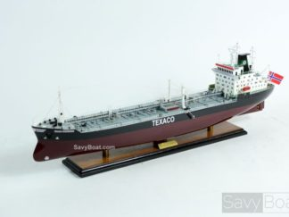 Texaco Stockholm wooden ship model