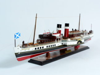 Waverley steam boat wooden model
