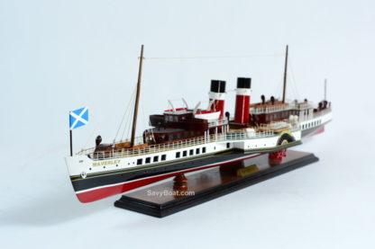 Waverley steam boat wooden model