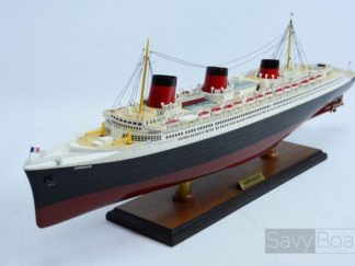 Normandie ship model