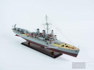 HSwMS Gotland handmade ship model