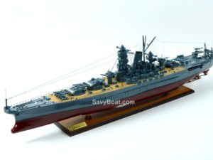 Yamato Japaness Battle Ship Model