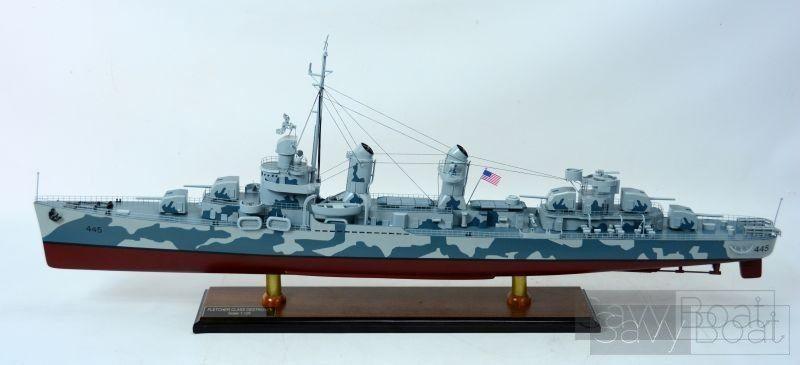 Uss Fletcher Camouflage Savyboat