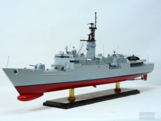 USS KNOX frigate handmade ship model