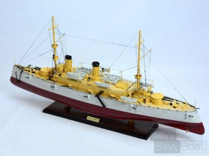 USS Olympia handmade ship model
