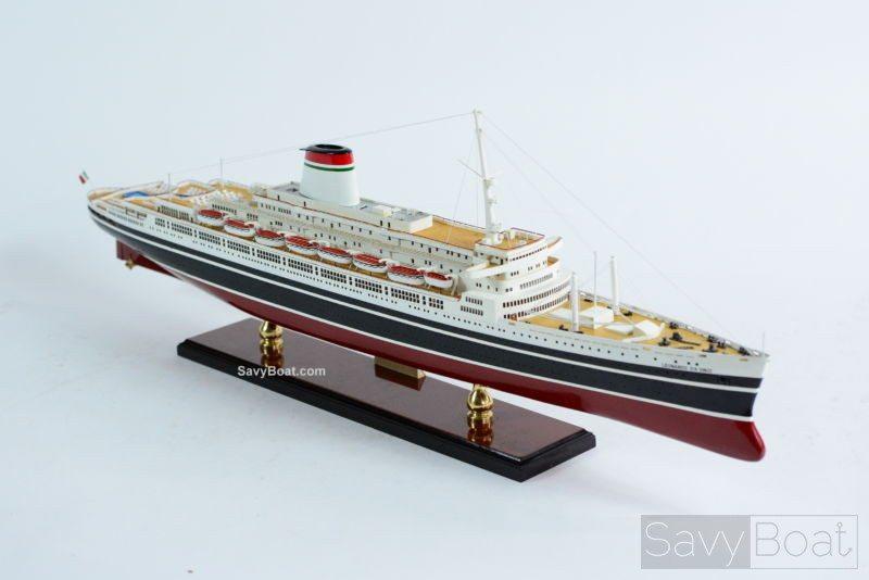 Leonardo da Vinci - Handmade Wooden Model Boat | SavyBoat