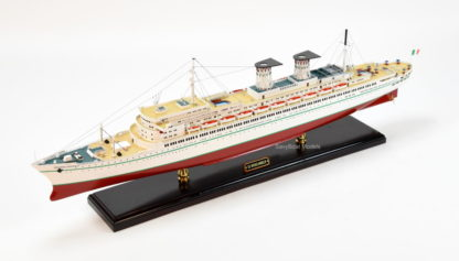 SS Michelangelo ocean liner model ship