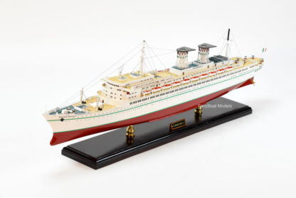 Michelangelo handcrafted ship model