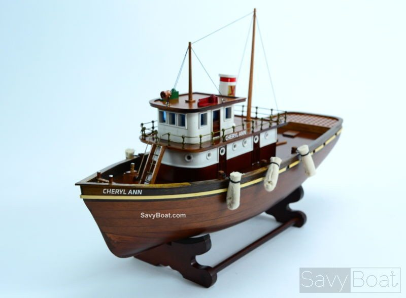 Cheryl Ann Tugboat handcrafted model boat | SavyBoat Models