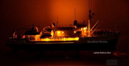 Jacques-Yves Cousteau's Calypso Ocean Exploration Research Vessel