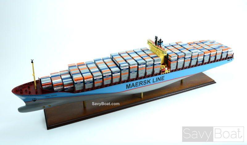 emma maersk e-class container ship