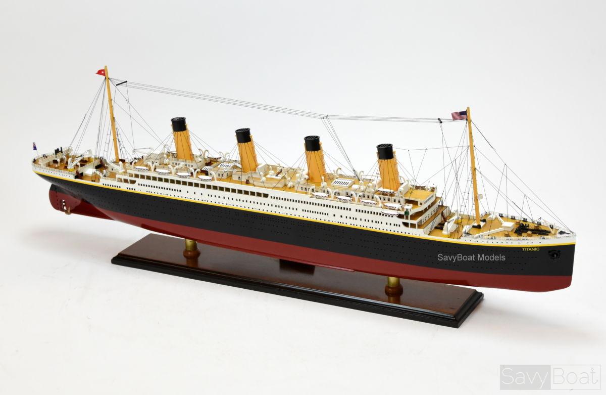 Rms Titanic White Star Line Ocean Liner Museum Quality Savyboat