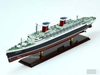 SS United States handmade ship model