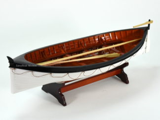 Titanic lifeboat wooden boat model