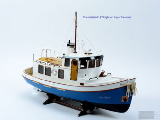 Victory tugboat model radio control