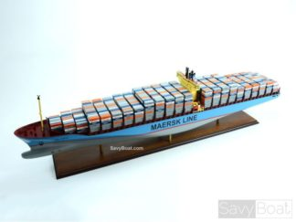 Emma Maersk handmade ship model
