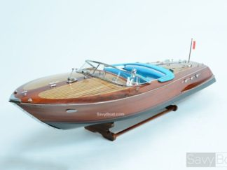 Riva Ariston handmade wooden model