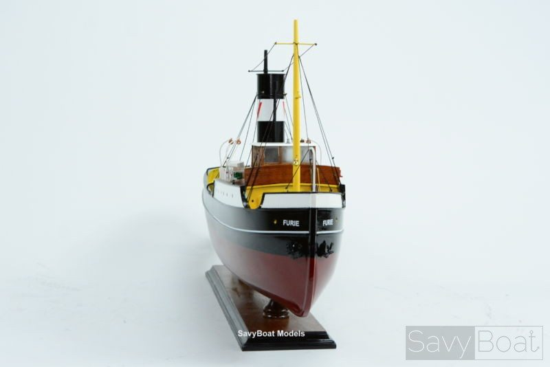 how to build a model tugboat