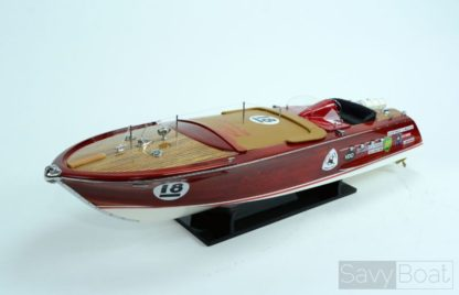 Riva Aquarama Zoom wooden Model boat