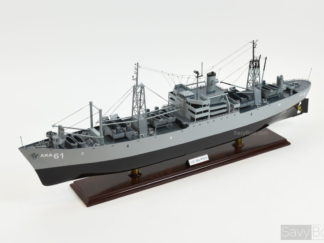 USS Muliphen ship model
