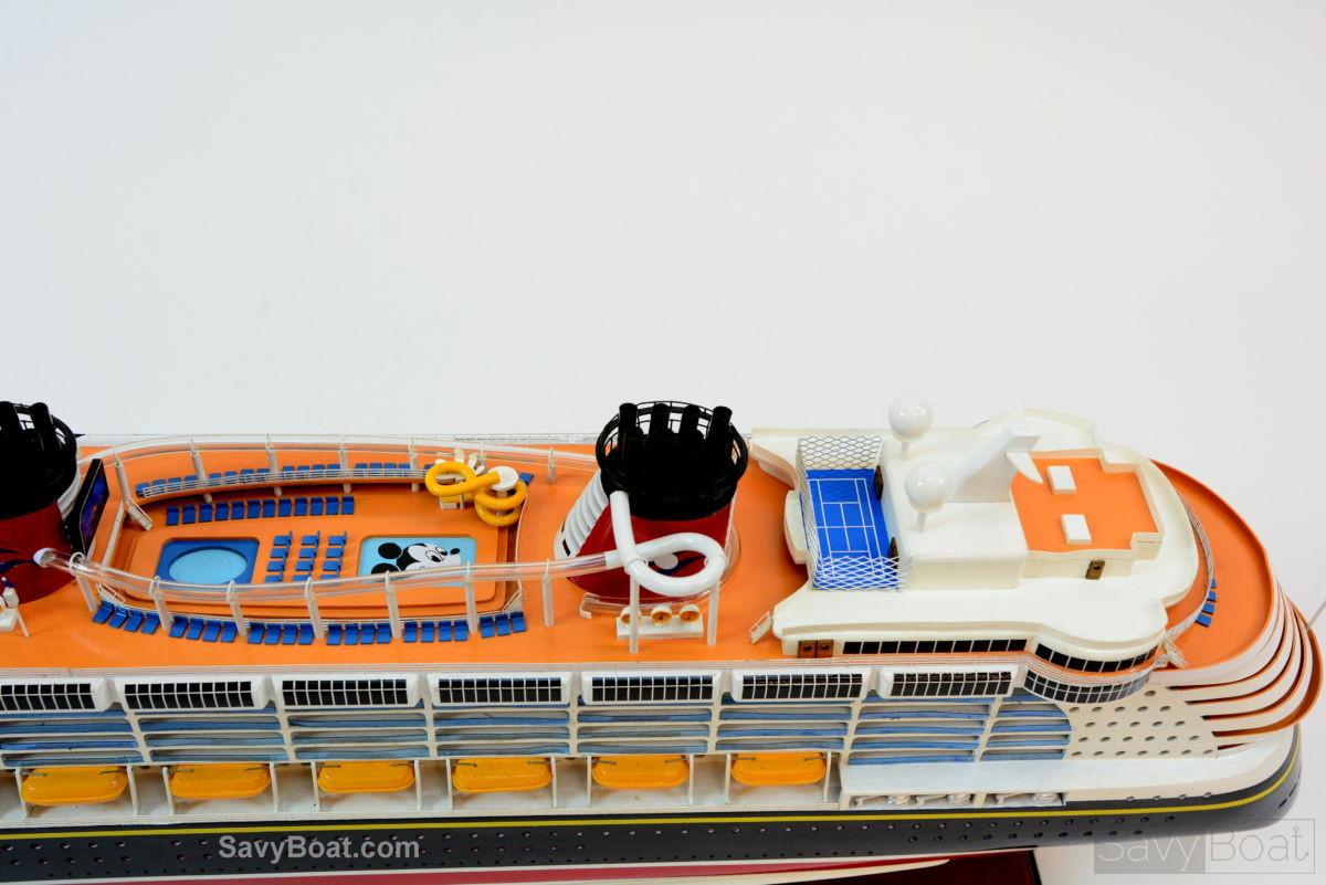 Disney Dream Cruise Ship Handmade Wooden Ship Model - Toy disney cruise ship