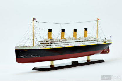 RMS Titanic Hancrafted Ship Model