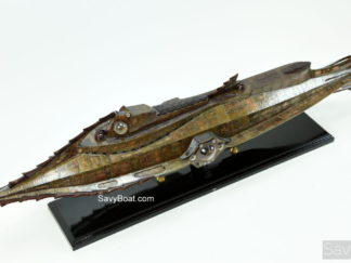 Nautilus submarine model