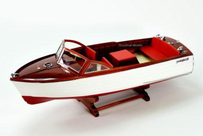 Chris Craft Sea Skiff handmade wooden boat model