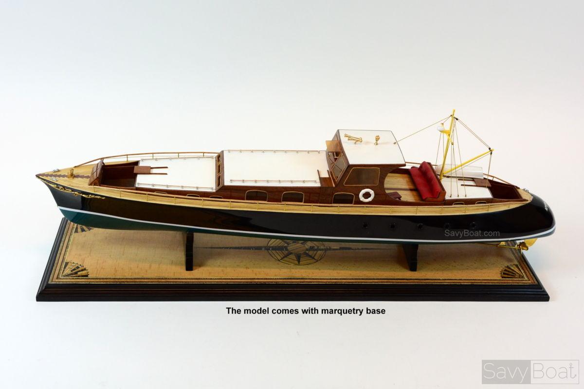 AVISO GRILLE Yacht - Museum Quailty Handmade Wooden Model