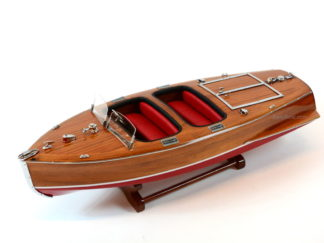 Chris Craft Barrel Back wooden boat model