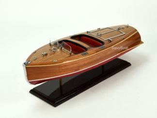 Chris Craft Barrel Back woodel boat model
