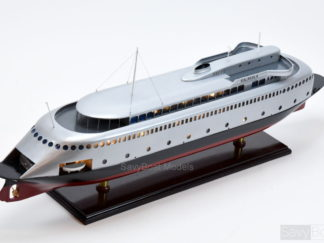 MV Kalakala ferry handmade wooden model