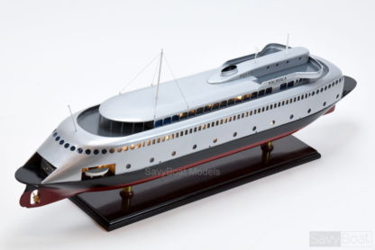 MV Kalakala ferry handmade wooden model