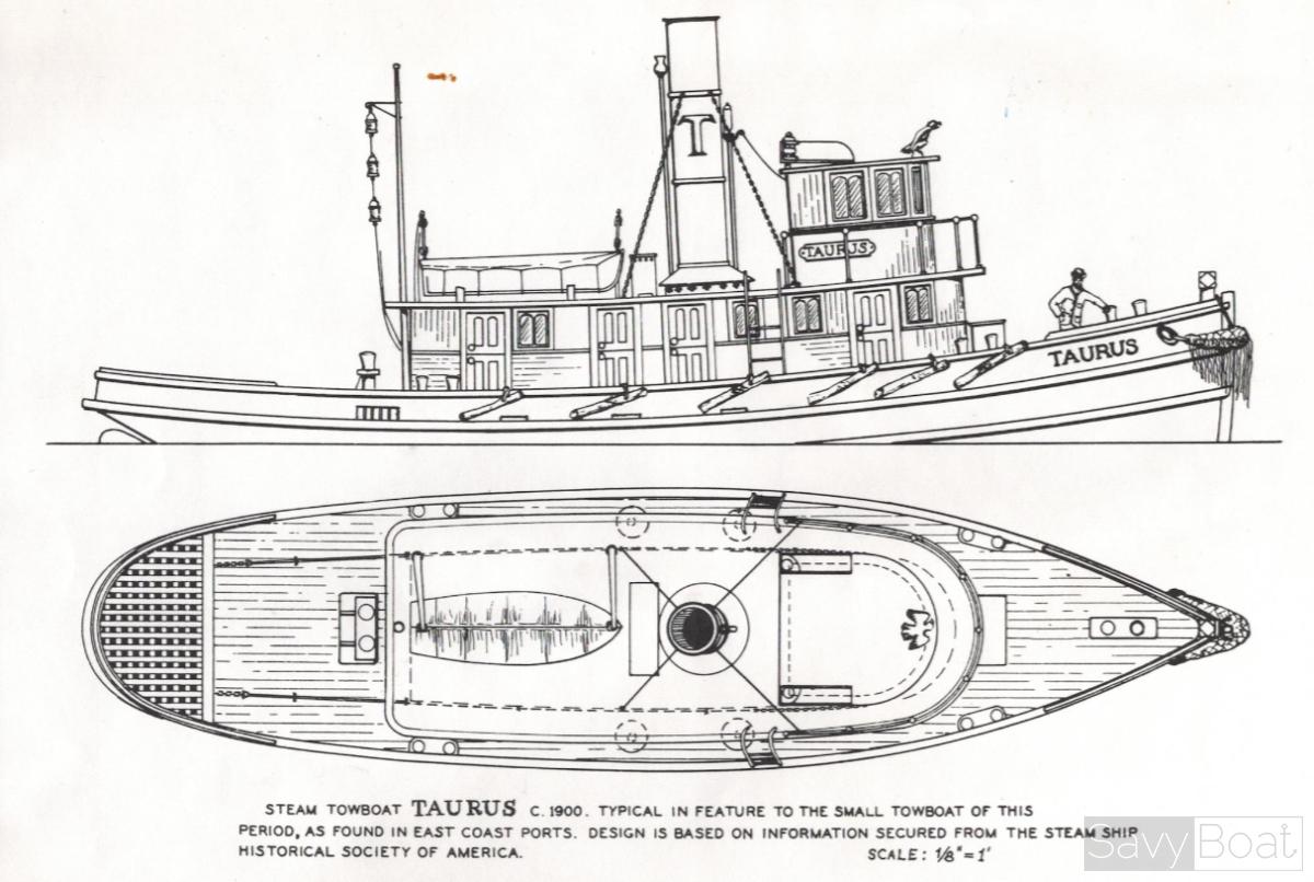 TAURUS Steam Towboat