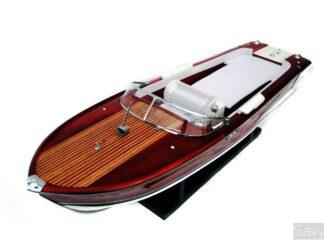 Riva Olympic handmade wooden model boat