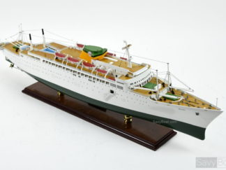 SS Brasil ocean liner model ship