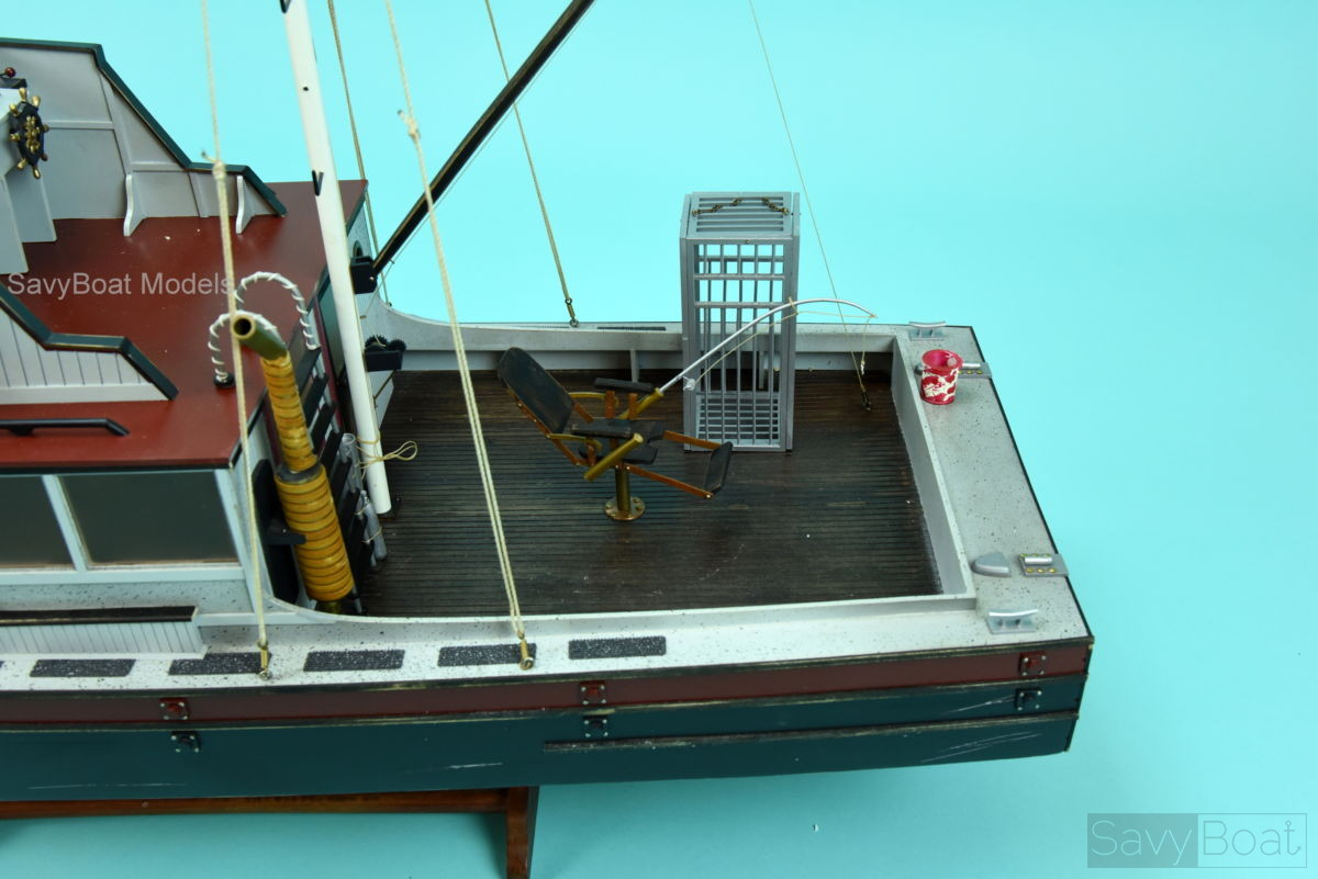 ORCA fishing boat from Jaws movie- Handcrafted Wooden Boat ...