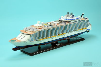 Allure of the Seas Wooden ship model