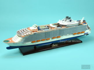 Harmony of the Seas cruise ship model