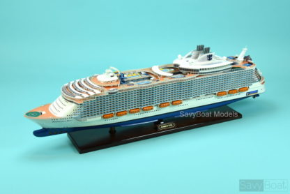 Harmony of the Seas cruise ship model