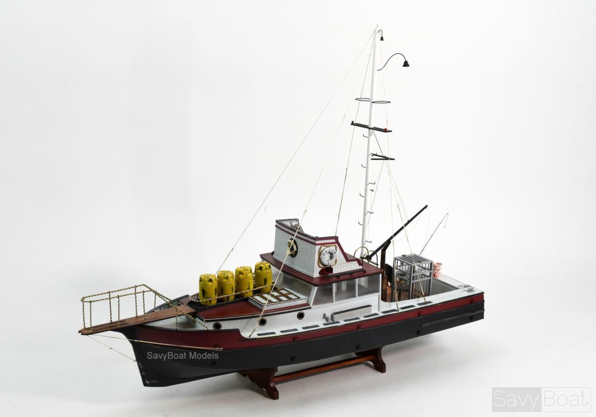 Orca Wood Model Ship Breakwater Bay Jaws
