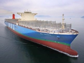 MOL Triumph handmade container ship